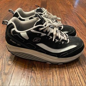 Skechers Shape Ups Strength Fitness Shoe Women 10